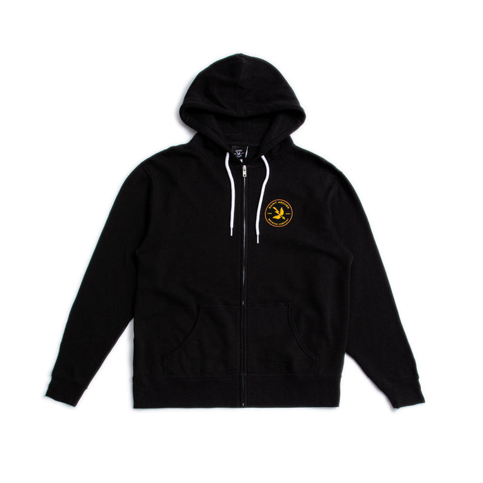 Zip-Up Mash Black