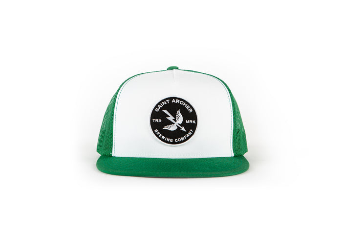 Mash Mesh Cap - White/Green