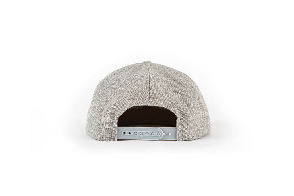 Mash Snapback - Heather Gray