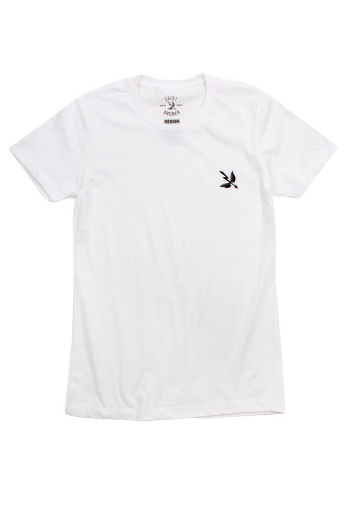 Women's Arrow S/S Tee - White