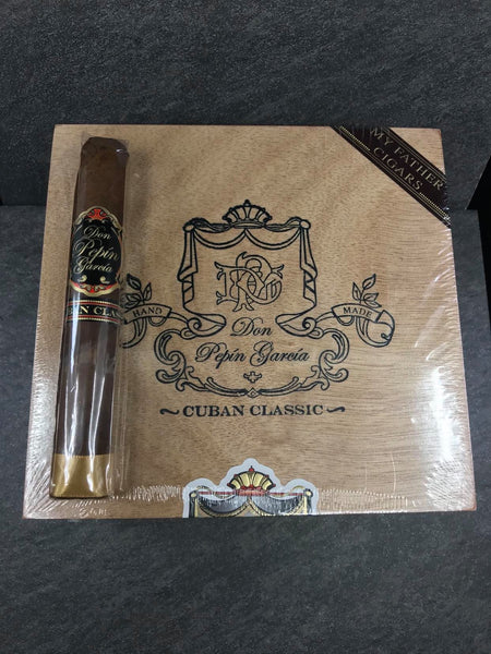 DON PEPIN BLACK CUBAN CLASSIC TORO GORDO 2001