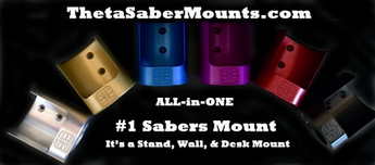 First Ever ALL-in-One Sabers Mount