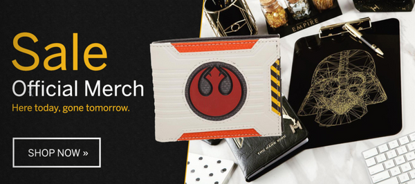 Star Wars Official License Merch