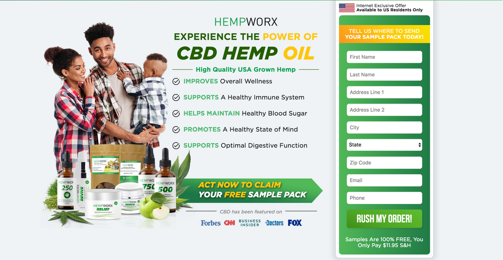 CBD HEMP PRODUCTS SAMPLES