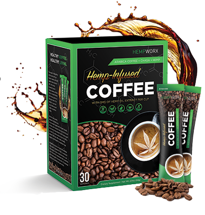 CBD HEMP PRODUCTS COFFEE