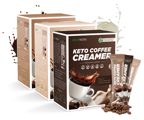 CBD HEMP PRODUCTS KETO COFFEE CREAMER
