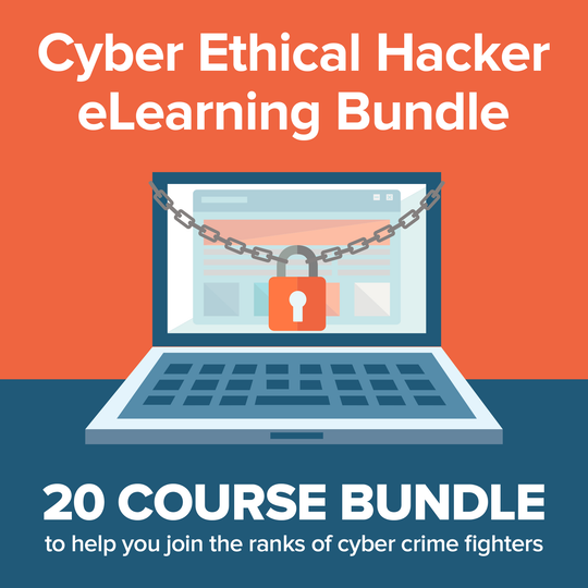 Cyber Ethical Hacker eLearning Bundle - Theta Saber Mounts
