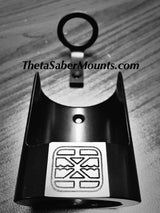 Saber Wall or Desk Mount by Theta Saber Mounts