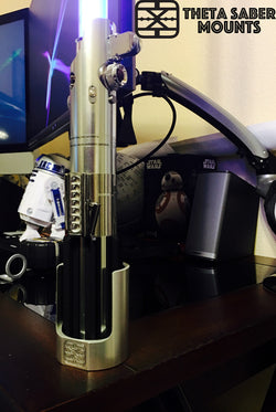 Knight Saber Collection Wall, Desk, Stand, All-in-One Mount - Theta Saber Mounts