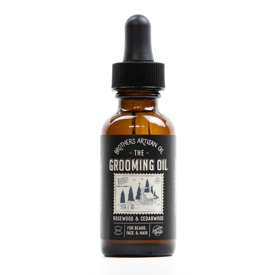 The Grooming Oil: Rosewood & Cedarwood