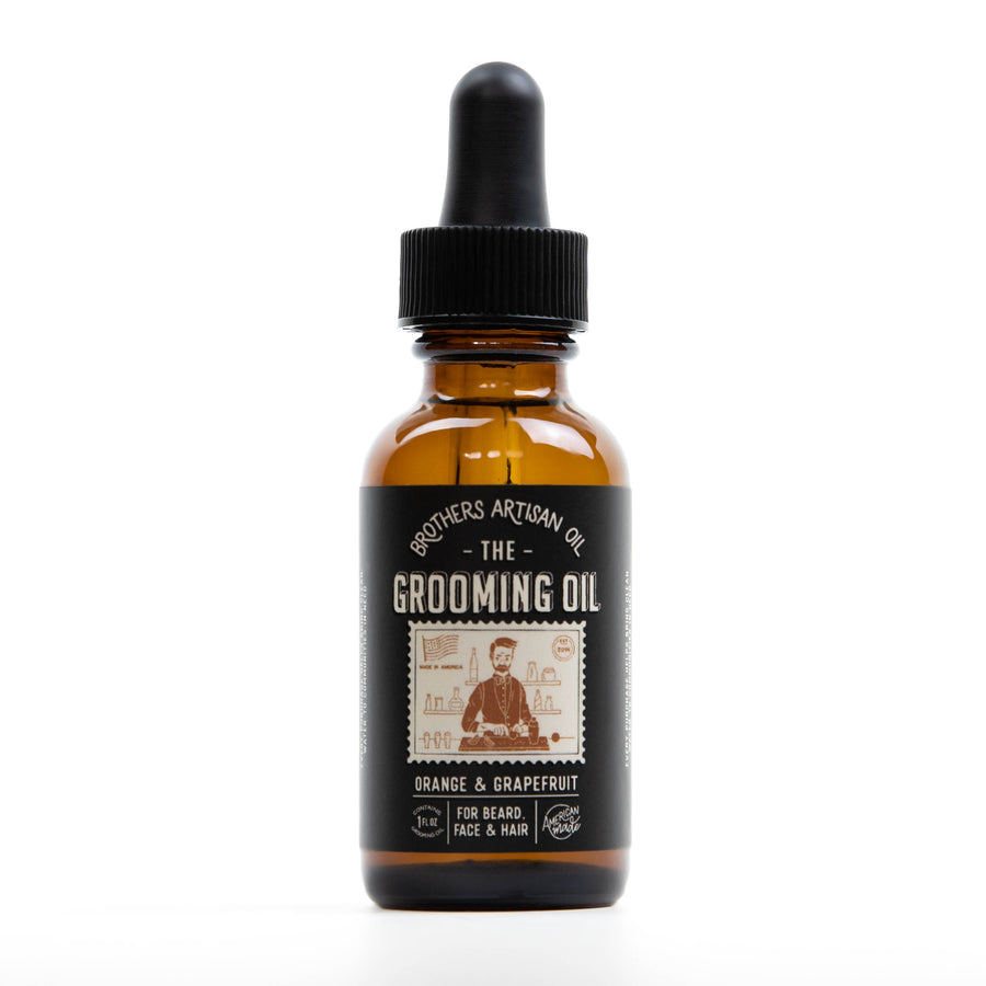 The Grooming Oil: Orange & Grapefruit