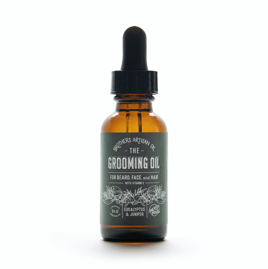 The Grooming Oil: Eucalyptus & Juniper