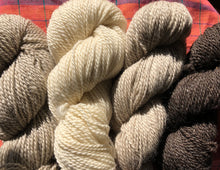 Natural Yarn skein (worsted weight)