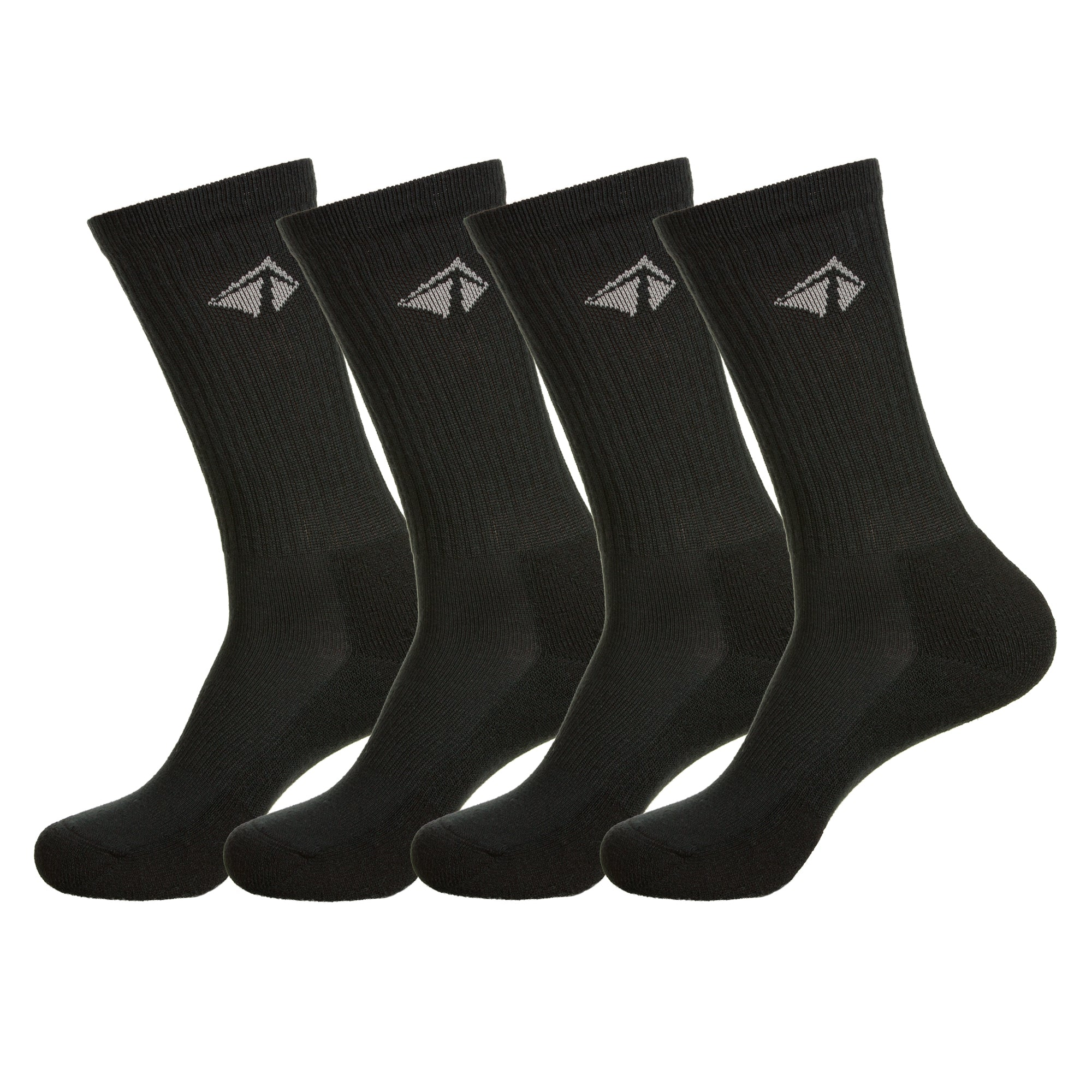 Atacama Performance Crew Sock - The All Blacks Set (4/pk)