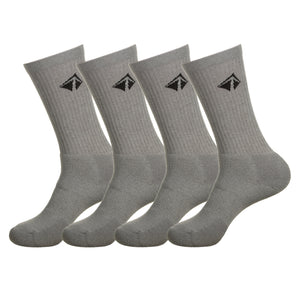 Atacama Performance Crew Sock - The Greys (4/pk) - lift23