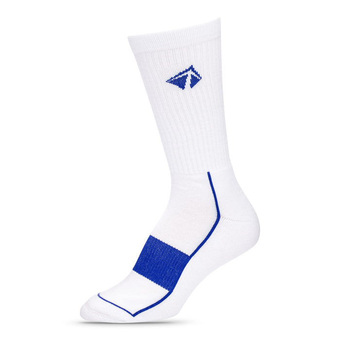 "Atacama Performance Crew Sock - ""White Midnight"""