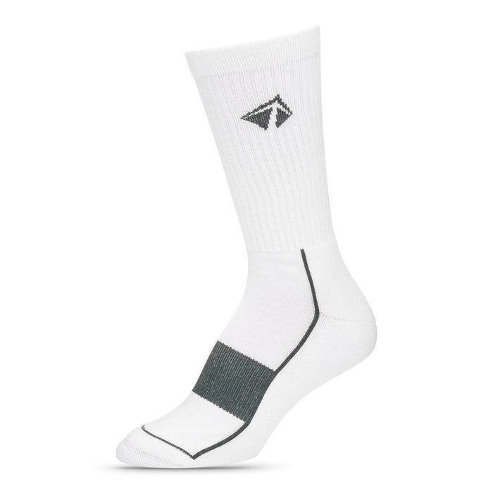 "Atacama Performance Crew Sock - ""Boulder White"""