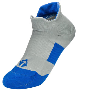 Tech-Lite Running Sock - Grey & Blue - lift23