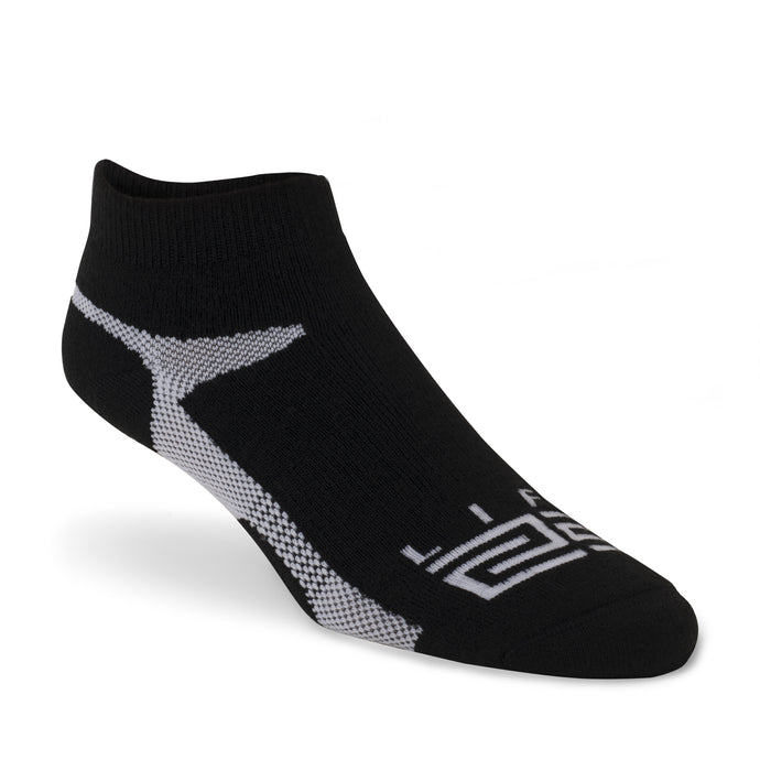 Golf Sock - Black & White