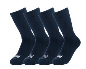 Leisure Socks (Navy - 4 pack) - lift23