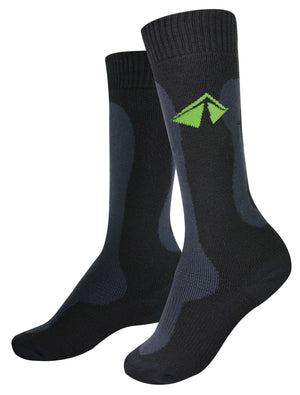 "The ""Toasty"" Snow - Mid-weight Merino - Small/Green Logo - lift23"