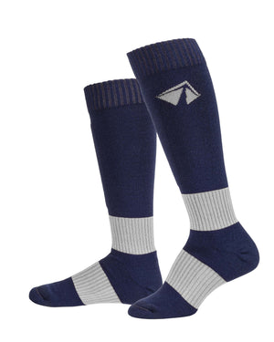Ski-Lite Performance Ski Sock - Large/White - lift23