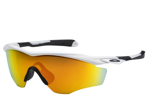 M2™ XL 45 mm Polished White Sunglasses - Oakley - OO9343 - 05