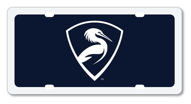 Egret Shield License Plate Insert