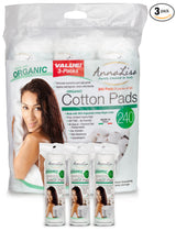 Organic Cotton Pads- 240 count Updated Version - Anna Lisa Cotton