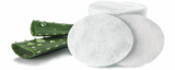 Aloe Vera LARGE Italian Cotton Pads - 40 Count - Anna Lisa Cotton