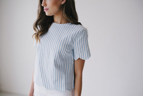 Hudson Stripe Top - Meadow & Magnolias