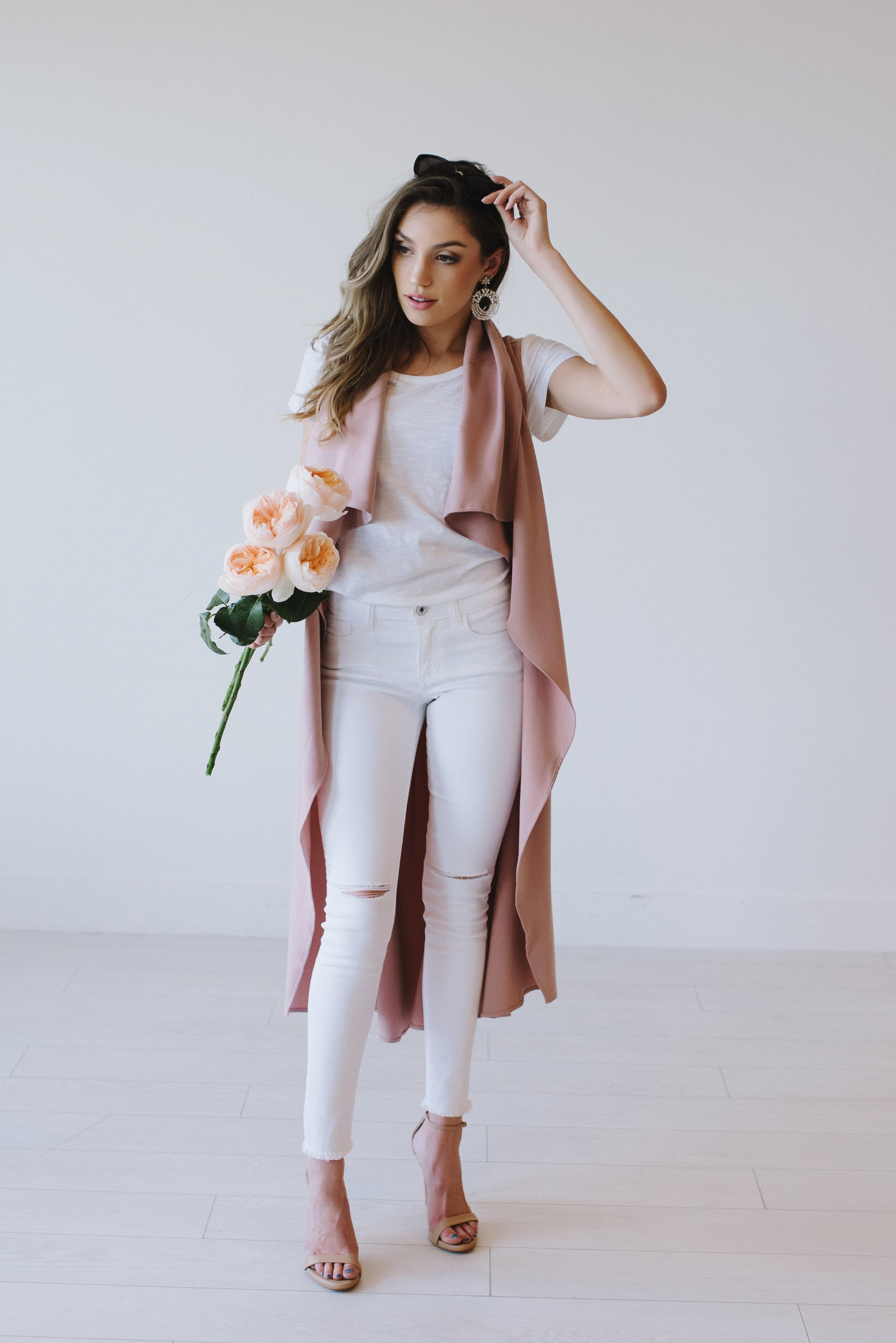 Blush Duster - Meadow & Magnolias