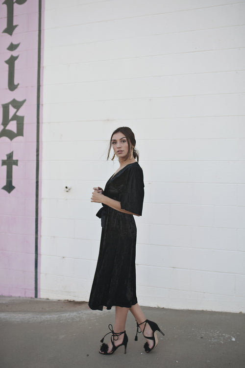 Velvet In Florence Dress - Meadow & Magnolias