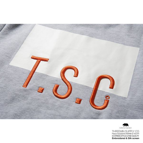 T.S.C. Fleece sweatshirt