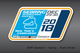 2018 Event Decals
