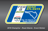 New! 2019 Event Decals