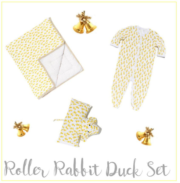 Baby Gift Set - Luxe Shower Gifts Roberta Roller Rabbit