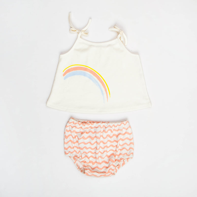 Rainbow Tank & Bloomer Set