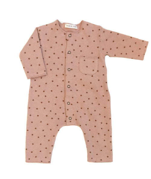 Babe & Tess Baby Fleece Holiday Onesie