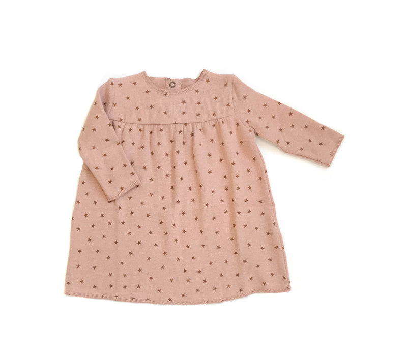 Babe & Tess Baby Fleece Holiday Dress