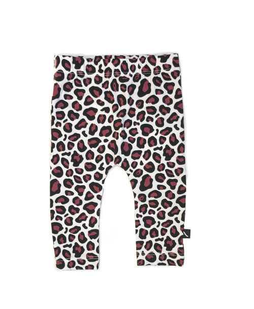 CarlijnQ Baby Clothes - Organic Cotton Leopard Leggings
