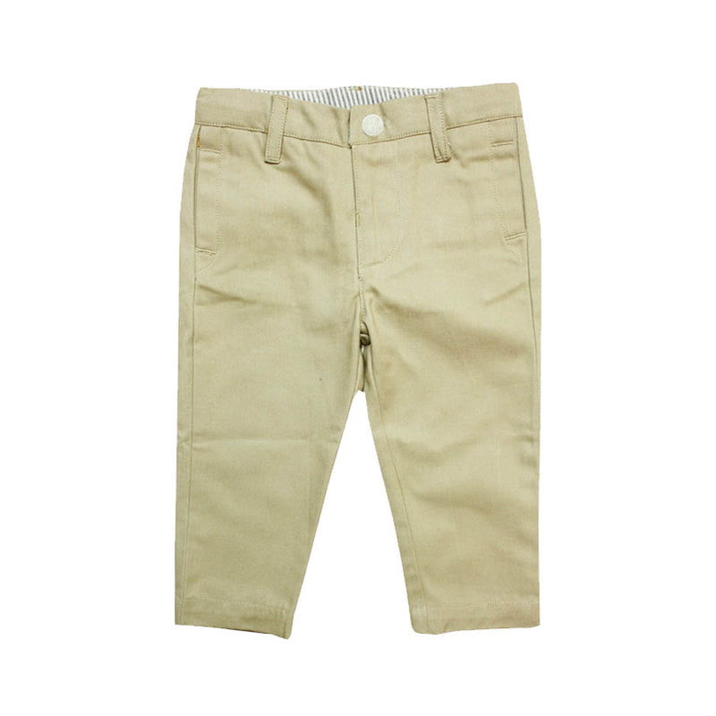 Baby Boys Khaki Pants - La Petite Collection