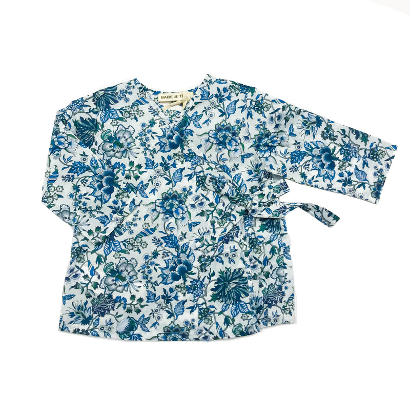 Baby Girls Floral Print Long Sleeve Top