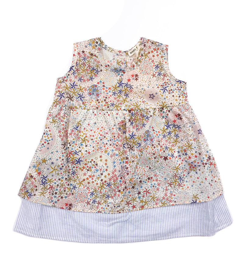 Baby Girls Star Print Dress by Babe & Tess
