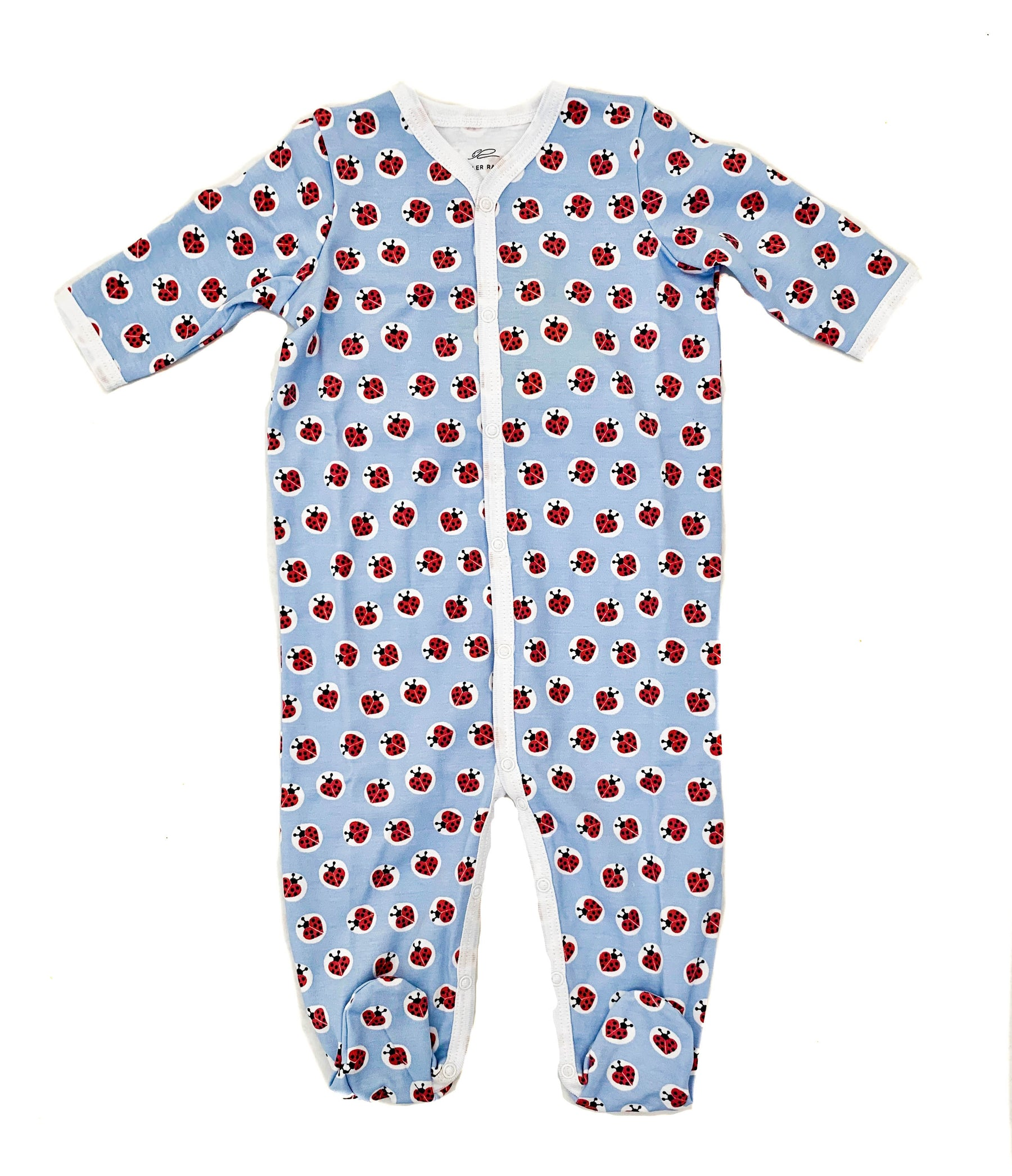 ecf134640 Infant Love Bug Footie Pajamas – Benny   Lou