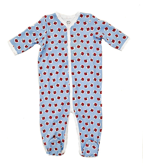 Infant Love Bug Footie Pajamas