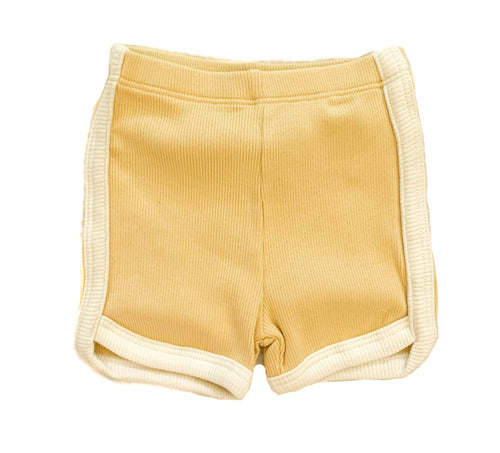 Organic Ribbed Short