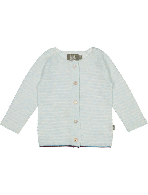 Organic Cotton Knit Newborn Set / Light Blue