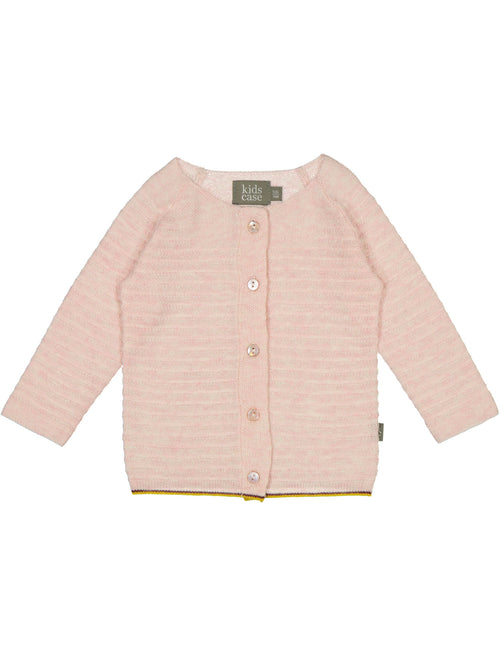 Organic Cotton Knit Newborn Set / Light Pink