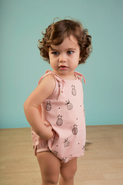 Pineapple Tank & Bloomer Set